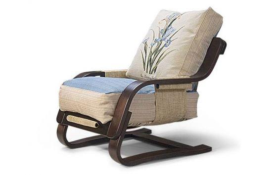 Кресло-качалка Флаер с подушками