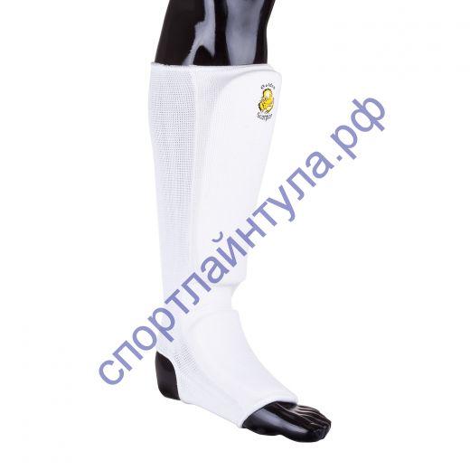 Защита голени для карате 7481 white