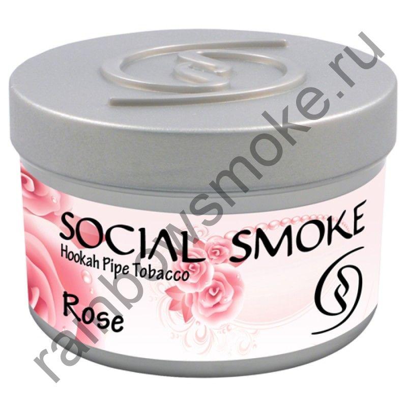 Social Smoke 250 гр - Rose (Роза)