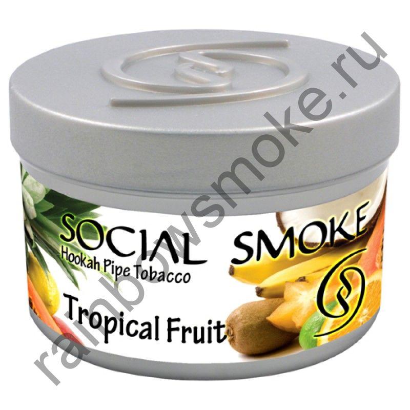 Social Smoke 250 гр - Tropical Fruit (Тропические Фрукты)