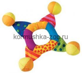 """Petstages игрушка для собак Mini """"Кольцо текстильное с мячиками"""""""