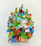 """Букет из конфет №608 """"Мастерская Деда Мороза"""""""