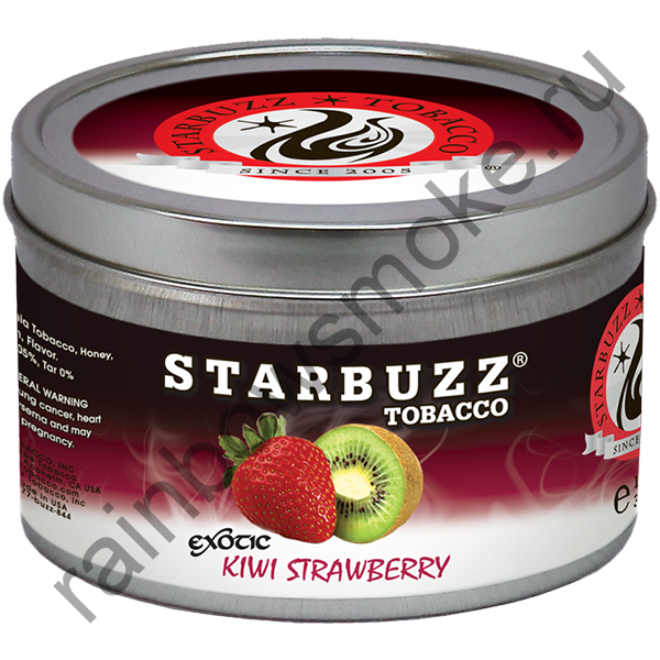 Starbuzz Exotic 100 гр - Kiwi Strawberry (Киви с Клубникой)