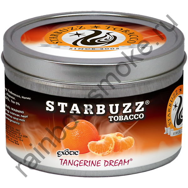 Starbuzz Exotic 250 гр - Tangerine Dream (Мандариновая Мечта)