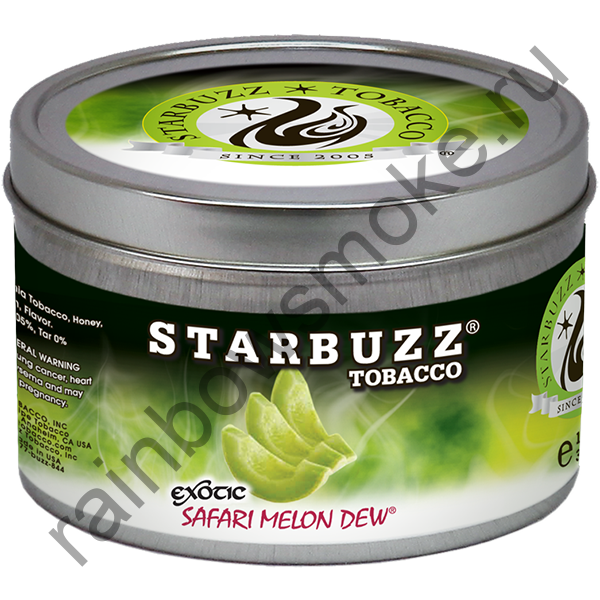Starbuzz Exotic 250 гр - Safari Melon Dew (Сафари Мелон Дью)
