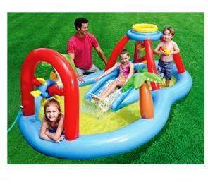 Игровой центр с бассейном надувной Intex 57449