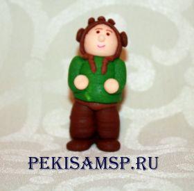 Сахарные фигурки ТАНКИСТ