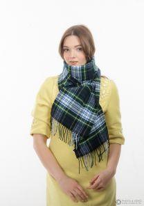шарф 100% шерсть ягнёнка , расцветка королевский клан Гордон (парадный вариант), плотность 6