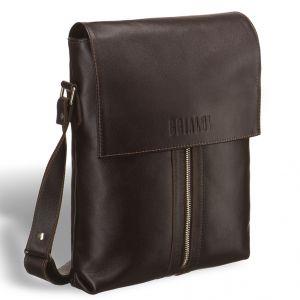 Кожаная сумка через плечо BRIALDI Positano (Позитано) brown