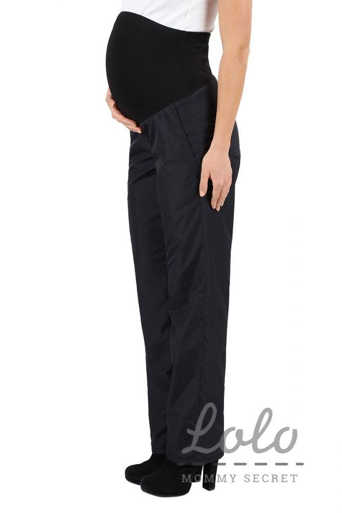 87a38102c670 Теплые брюки для беременных на флисе с бандажом на живот арт. Trz 003