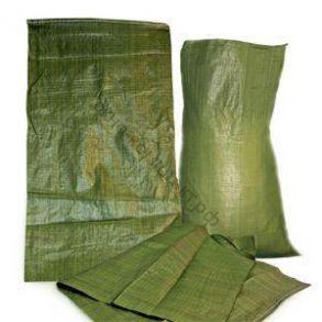 Мешок п/п под строительный мусор 50кг 55*95 зеленый