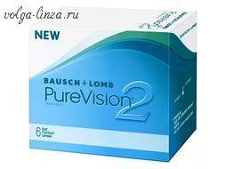 PureVision 2 HD-самые тонкие контактные линзы, которые можно носить месяц, не снимая.