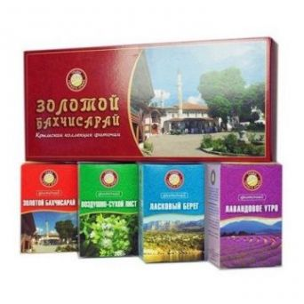 Травы горного Крыма Золотой Бахчисарай. Набор чая