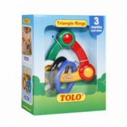 Tolo Toys Погремушка Геометрические фигуры 3 мес+