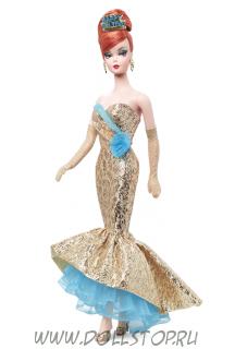 Коллекционная кукла Барби Новогодняя  - Happy New Year Barbie Doll