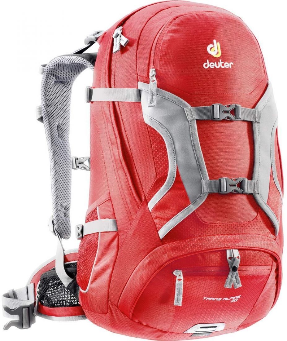 DEUTER BIKE TRANS ALPINE 30L fire-cranberry универсальный рюкзак