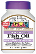 21st Century Health Care Fish Oil 1000 mg (60 капс.)