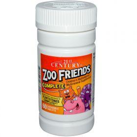 21st Century Health Care Zoo Friends Complete (60 табл.)