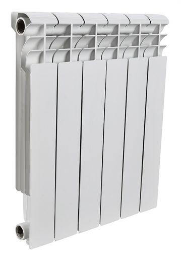 Радиатор алюминиевый Rommer Profi 6 секций 500-80-100
