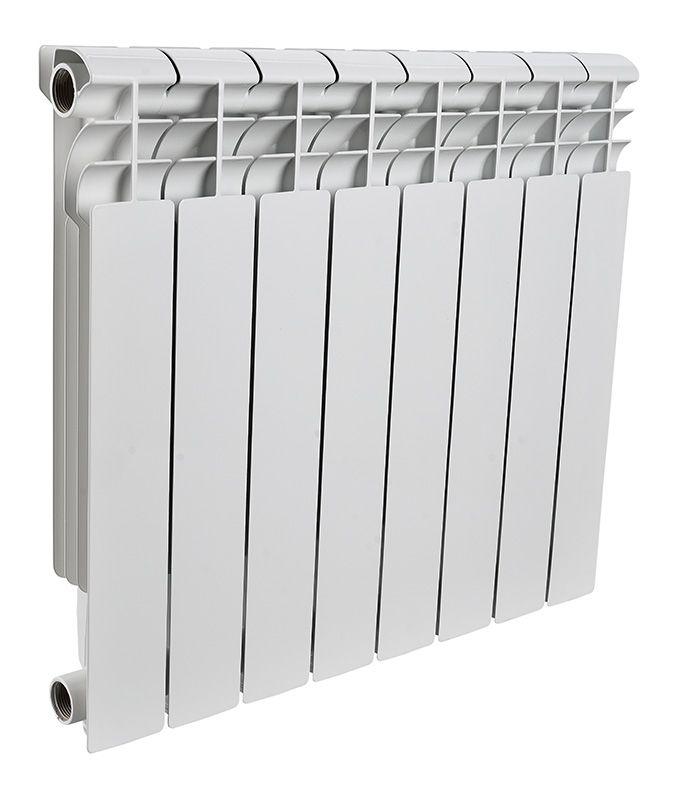 Радиатор алюминиевый Rommer Profi 8 секций 500-80-100