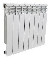 Радиатор алюминиевый Rommer 8 секций 500-80-100