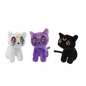 Плюшевые котики из аниме Сейлор Мун