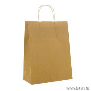 "Пакет крафт ""Радуга"" капучино, 25 х 32 х 11 см"