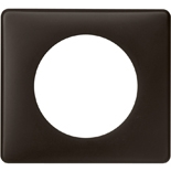 Legrand Celiane2 Рамка на 1 пост, черная перкаль