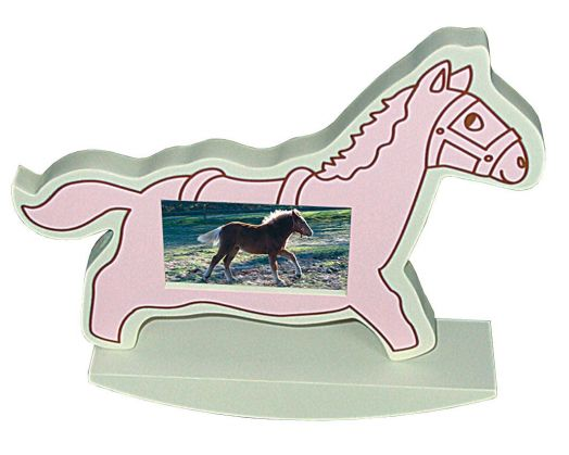 Фото рамка в виде лошадки