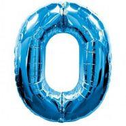 """Фигура """"0""""  (40""""/102 см) синий"""