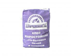 Клей для облиц. печей и каминов Печник (+250 С), 20кг, 1 пал.=54шт