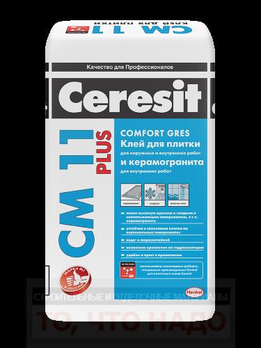 CERESIT СМ 11 Plus Клей для плитки 25кг