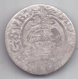 1/24 талера 1633 г. Рига .Ливония. Швеция.