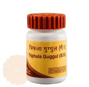 Трифала Гуггул Дивья (Triphala Guggul Divya Pharmacy),80 таб