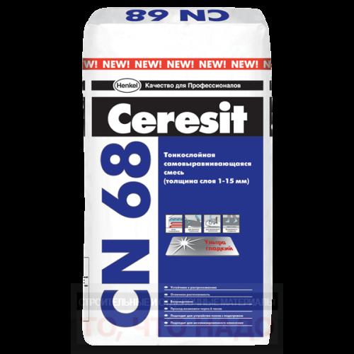 CERESIT CN 68 Самовыравнивающаяся смесь 1-15мм 25кг