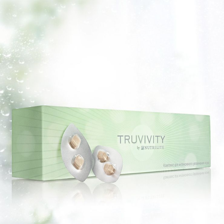 Truvivity от Nutrilite Комплекс для интенсивного увлажнения кожи 60 табл.