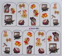 наклейка водная серия BOP #091