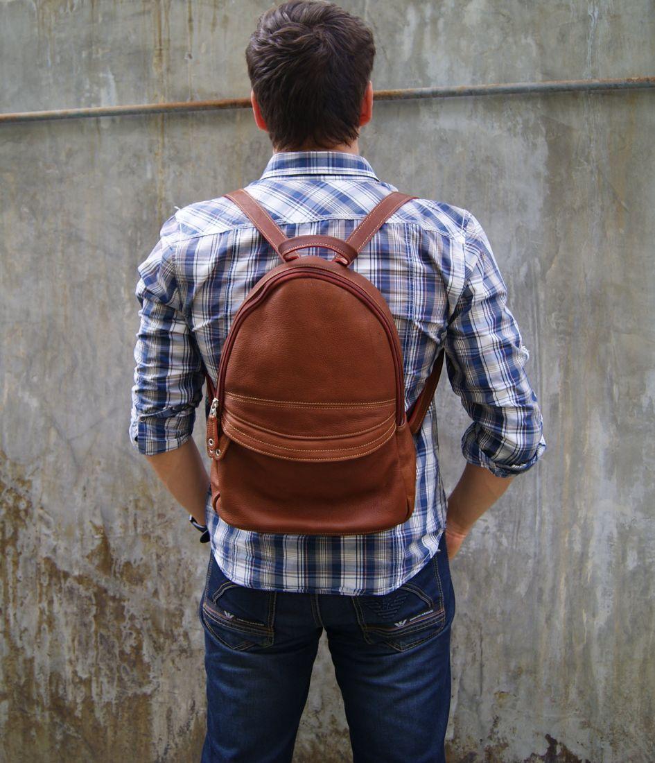 BUFALO BPP01 кожаные рюкзаки