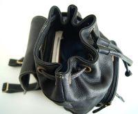 BUFALO BPP02 чёрный женский кожаный рюкзак