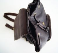 BUFALO BPP02 коричневый женский кожаный рюкзак