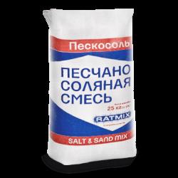 Реагент Ратмикс песчано-соляная смесь 25кг.