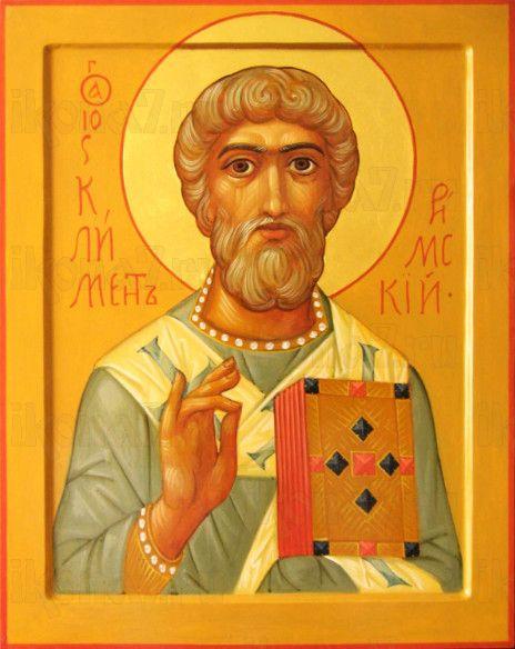 Климент, Папа Римский (рукописная икона)