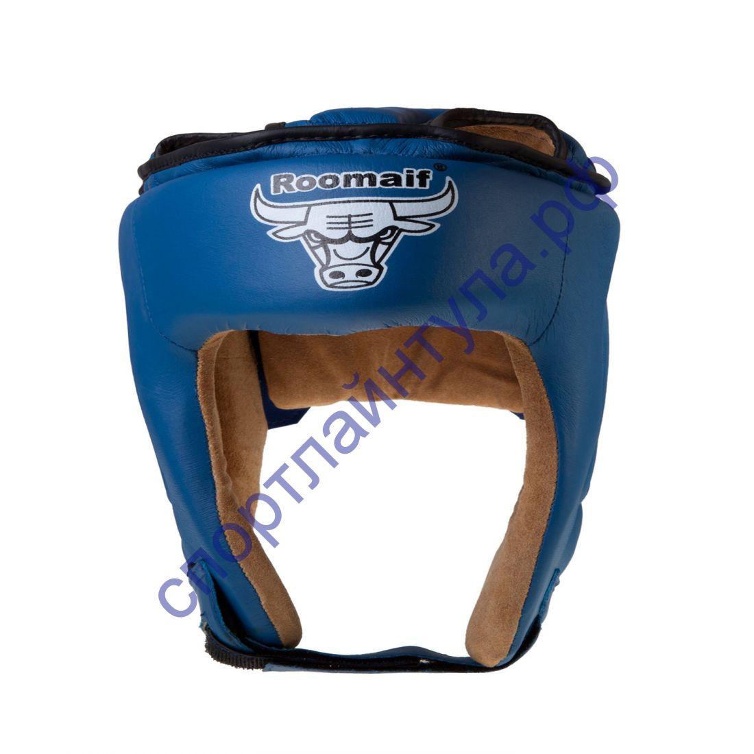 Шлем боксерский RHG-146 PL синий