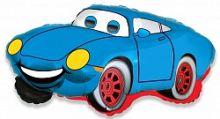 """Гоночная машина синий, 14""""/ 36 см"""