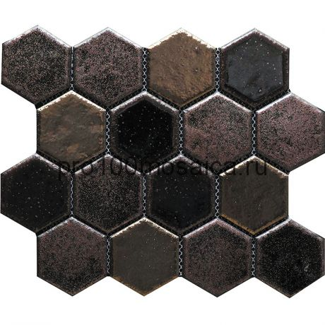 Hexa-31(4). Мозаика СОТЫ 66x77x10, серия Hexa,  размер, мм: 275*240 (GAUDI)