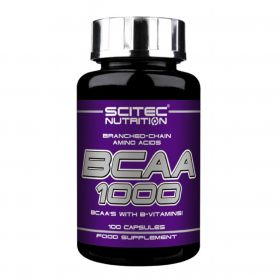 Scitec Nutrition BCAA 1000 (100 капс.)