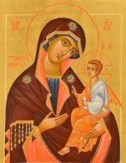 Грузинская икона БМ (рукописная на заказ)