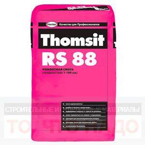 THOMSIT RS 88 Ремонтная смесь для внутренних работ 1-100мм 25кг