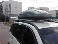 Багажник на крышу Great Wall Hover H5, Атлант, прямоугольные дуги на рейлинги