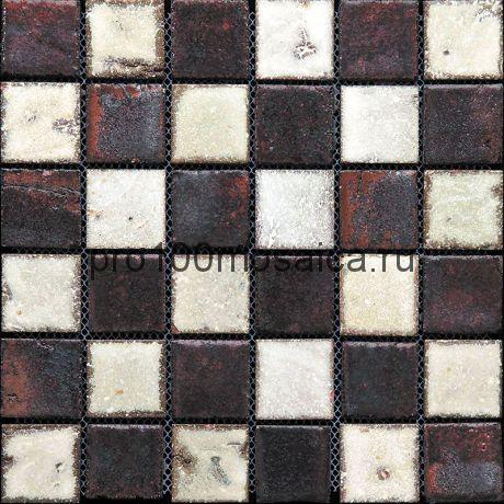Rust-25(4). Мозаика 45x45x10, серия RUSTICO,  размер, мм: 285*285 (GAUDI)